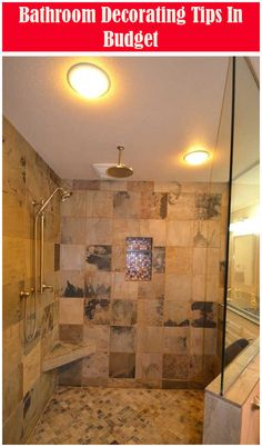 These Doorless Walk In Shower Photos photos will help you choose the best shower design for your space. Top Bathroom Design, Bathroom Style, Bathroom Pictures, Doorless Shower Design, Trendy Bathroom, Bathroom Accessories Sets, Bathroom Tile Designs, Farmhouse Master Bathroom, Bathroom Design