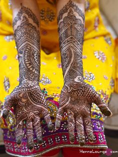 Bridal Henna by Henna Lounge #henna #mehndi #indian #wedding #shaadi #sanfrancisco #haldi #desi