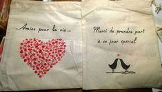 Comment réaliser un sac en toile DIY pour tes kits témoins ou demoiselles d'honneur ? | Mademoiselle Dentelle