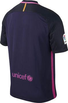 separation shoes c4b33 b1a26 FC Barcelona Away Kit 2016-17 | Football Kits | Fc barcelona ...