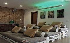 Pallets de Madeira são ótimos para compor a decoração e deixar sua casa mais…