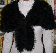 estola, trico, ESTOLA EM GOMOS, fácil de fazer, fio passion, fio elegance Knit Crochet, Fur Coat, Knitting, Fashion, Knit Jacket, Crochet Strappy Tops, Tricot Crochet, Ponchos, Caps Hats