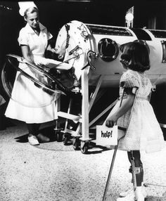 between 1950 and 1960 Polio killed 12,187 American children and left countless others living in the dreaded iron lung, or with lifelong paralysis.