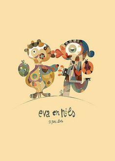 Pencils & Penselen presents a new post: Eva en Nils by *wB, via Flickr