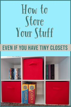 Learn how to organize your home, EVEN if you have small closets and limited storage space! These ideas will help your home stay clutter free, organized, and looking great! Office Organization Tips, School Supplies Organization, Organizing Paperwork, Small Closet Organization, Organizing Your Home, Bedroom Organization, Organizing Toys, Classroom Organization, Kitchen Organization
