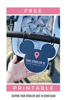 Keeping your stroller SAFE at Disneyland just got really easy! Print this FREE Stroller Sign for Disneyland for next time you're in the park. Disney World Tipps, Disney World Tips And Tricks, Disney Tips, Disney Fun, Disney Surprise, Disney Ideas, Disney Family, Disney Autograph Ideas, Disney Stuff