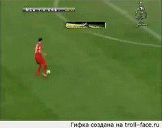 Double soccer fail