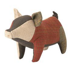 patchwork piglet in wool?