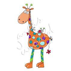 Gerd Giraffe, EXCLUSIV Zeichnung