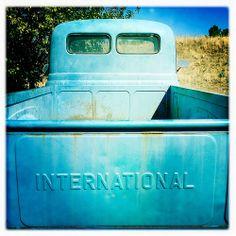 International Pickup Truck Blue Texas IMG_0480