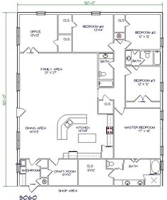 barn house blueprints | floor plans | pole barn garages | pinterest