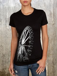 Hey, I found this really awesome Etsy listing at http://www.etsy.com/listing/93111852/ladies-black-screen-printed-shirt-of