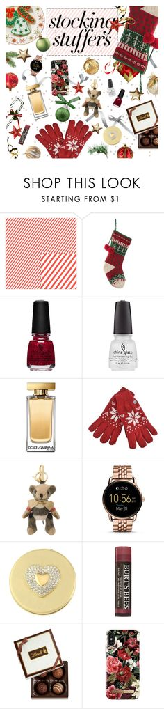 """★ 404: stuff with style"" by yuuurei ❤ liked on Polyvore featuring Dolce&Gabbana, Burberry, FOSSIL, Liz Claiborne, Lindt, iDeal of Sweden, contestentry and polyPresents"