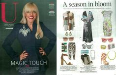 CODE LOVE featured in U ON SUNDAY! Those warmer days are getting closer! Check out U ON SUNDAY for tips on how to pair our stunning CODE LOVE pieces with your beautiful spring outfits, glam or casual!