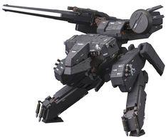Kotobukiya's kit of the mighty Metal Gear REX is back--this time in black! Metal Gear Solid, Metal Gear Rex, Heavy Metal, Toy Art, Plastic Model Kits, Plastic Models, Cry Anime, Anime Art, V Gear