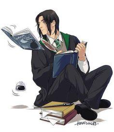 Check out this #PotterArt of a young Severus Snape by hanatsuki89.tumblr.com!