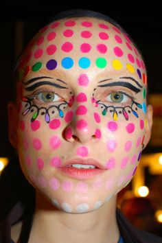 #MBFWA more of romance was born's psychedelic 'mushroom magic' hair & makeup... | Frockwriter