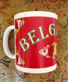Personalised Canal Narrowboat Name mug by Hx5Designs on Etsy, £9.99