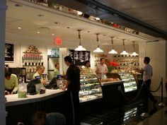 Bouchon Bakery: low ceiling dictates change in function