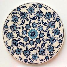 Floral Ceramic Trivet - Sophie's Bazaar - 1