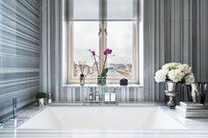 Luxury residential development - The Russell, London - Adelto Gorgeous Bathroom, Beautiful Bathrooms, Interior Design London, Timeless Bathroom, Shower Plumbing, Guest Bathrooms, Mid Century Modern Bathroom, Luxury Interior Design, Bathroom Design Inspiration