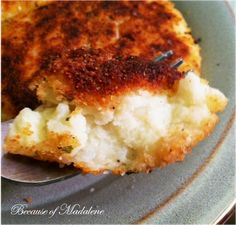 Mashed Potato Patties