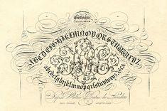 Antique Clip Art - Pen Flourishing - Typography - The Graphics Fairy