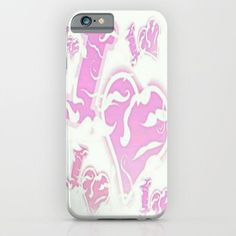 I Love Mustaches iPhone & iPod Case by Lilbudscorner