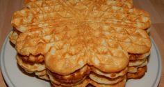 Ropogós waffel recept