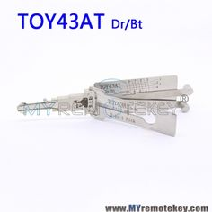LISHI TOY43AT Dr/Bt 2 in 1 Auto Pick and Decoder For Toyota