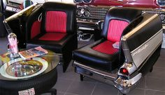 1957 Chevrolet Bel Air Chairs
