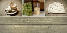 Proposte eleganti per una tavola speciale.  #biodegradabile #compostabile #ecologia www.ecobioshopping.it