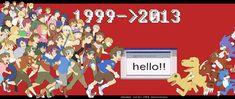 "Fan Artists Celebrate Anniversary of ""Digimon Adventure"""