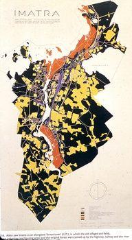 Master plan for Alvar Aalto's Imatra
