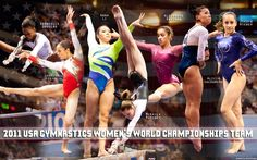 2011 USA gymnastics worlds team....if you know me, then you know i love gymnastics. poco2929
