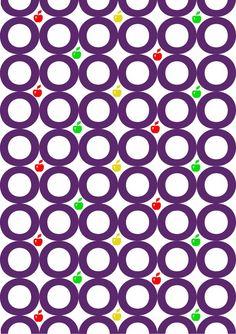 """DTL Nobel, Sjoerd de Roos & Dick Dooijes, 1929. pattern 3 (colore), """"semplice""""."""