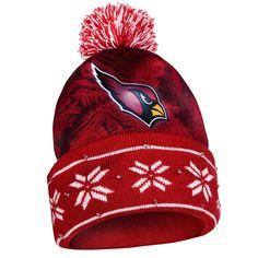 a0191b1f7f0 Amazon.com   NFL Big Logo Light Up Printed Beanie Knit Cap (Arizona  Cardinals