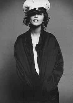 ☆ Nadja Auermann | Photography by Satoshi Saikusa | For W Magazine | November 1995 ☆ #nadjaauermann #satoshisaikusa #wmagazine #1995