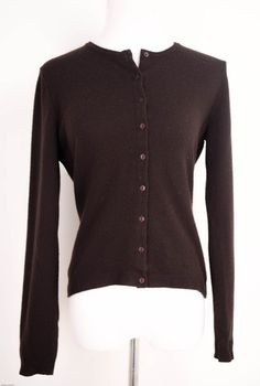 Benetton Chocolate Brown Sweater Size S by Benetton | ClosetDash