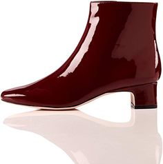 Block Heel Square Toe, Women's Ankle boots #springboots #springbootsoutfit #springbootsankle #springboots2019 #springbootsoutfitcasual