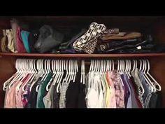 Como organizar seu armário: dicas para organizar roupas e sapatos - YouTube