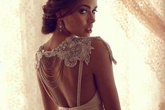 Vestidos de novia de estilo Gran Gatsby