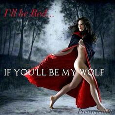 Letmeinside big bad wolf ;) ill be your baby girl in red........