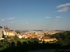Coffee with this view @Prague