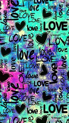 Punk love galaxy wallpaper i created for the app cocoppa. Unicornios Wallpaper, Cute Emoji Wallpaper, Heart Wallpaper, Butterfly Wallpaper, Tumblr Wallpaper, Cute Wallpaper Backgrounds, Cellphone Wallpaper, Pretty Wallpapers, Colorful Wallpaper