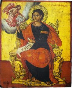 Saint Thomas the Apostle as a Model for our Lives Thomas The Apostle, St Thomas, Byzantine Icons, Byzantine Art, Fall Of Constantinople, Religious Paintings, Best Icons, Orthodox Icons, Renaissance Art