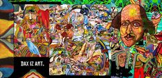 The Art of Dax Norman. a modern day Artist. Painter, contemporary independent Animator. Psychedelic, surreal, Austin Texas Artist.