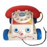 Vintage Fisher Price telefoon