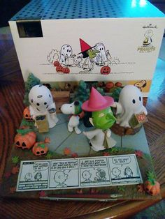 CollectPeanuts.com on Facebook - What's new in your Peanuts Collection? Shannon shares his new Great Pumpkin Anniversary figurine from Hallmark.  Share your Snoopy! Post photos of your finds on the CollectPeanuts.com Facebook wall.