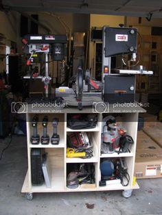 Shop Storage Solutions #8: Mobile Tool Cart (with photos) - by HokieMojo @ LumberJocks.com ~ woodworking community Antique Woodworking Tools, Woodworking Workbench, Woodworking Shop, Woodworking Projects, Workbench Plans, Woodworking Basics, Antique Tools, Woodworking Machinery, Popular Woodworking